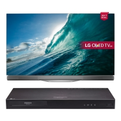 "LG 55"" 4K UHD OLED TV Plus Free Blu Ray Player"