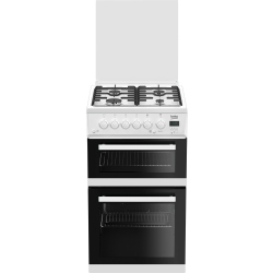 Beko Gas Cooker with Glass Lid