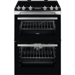 Zanussi ZCV66078XA 60cm Electric Double Oven