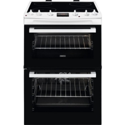 Zanussi ZCV66370WA 60cm Electric Double Oven