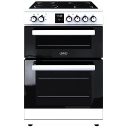 Belling FSE608DPC 60cm Electric Double Oven with Ceramic Hob