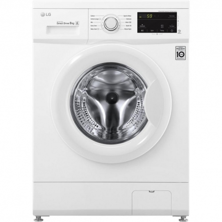 LG ELECTRONICS F4MT08W 8 kg 1400 Inverter Direct Drive™ Washing Machine - WHITE - A+++-30% Energy Rated