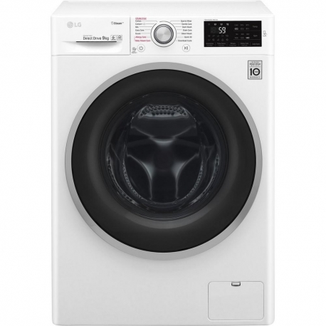 LG ELECTRONICS F4J609WS 9kg 1400 Steam™ Washing Machine - BLUE WHITE - A+++-20% Energy Rated