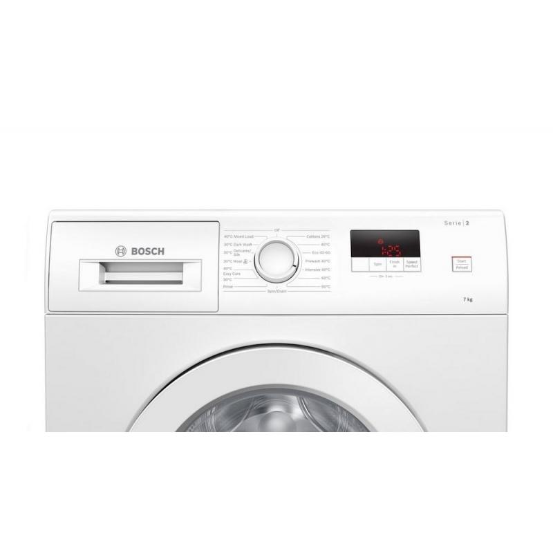 Bosch Quantum Speed Microwave Combination Oven: Bosch WAJ24006GB 7kg 1200 Spin Washing Machine
