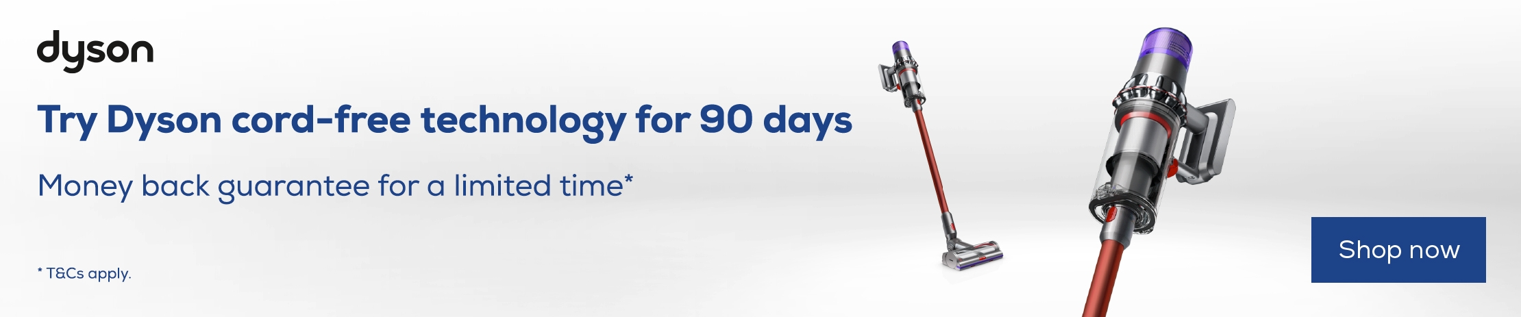 Dyson Cord Free Promotion